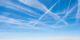 contrails-over-germany